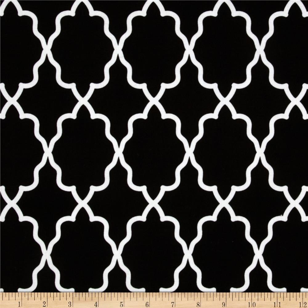 Michael Miller Coco Cabana Moroccan Lattice Black