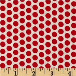 Basic Training Medium Dot White/Red