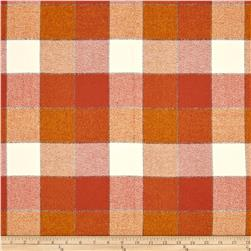Kaufman Mammoth Flannel Plaids Rust