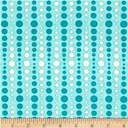 Moda Hugaboo Dot To Dot Airplane Aqua
