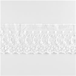 "Riley Blake 4"" Decorative Lace White"
