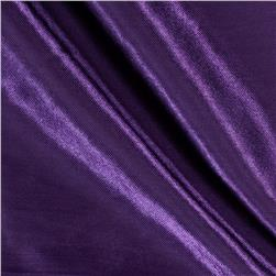 Poly Charmeuse Satin Purple