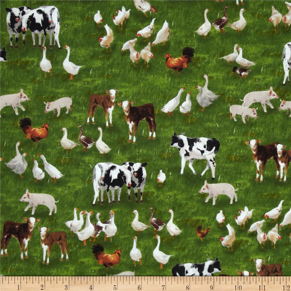 International Harvester - Down On The Farm Animals Dark Green