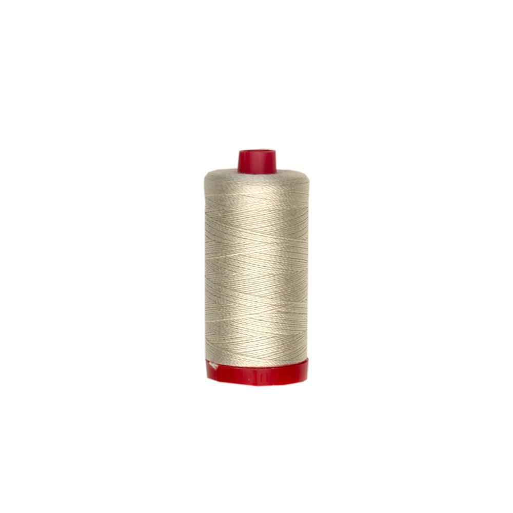 Aurifil Embellishment Thread 12Wt Light Beige