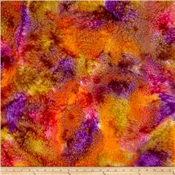 Indian Batik Marble Blender Pink/Orange/Purple