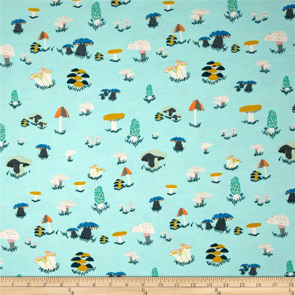 Art Gallery Fantasia Jersey Knit Agaricus Forest Water