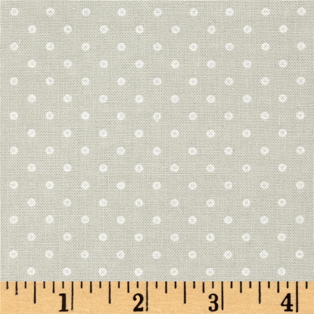 Basically Wide 108 Quot Quilt Back Dots Grey Discount