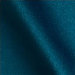Stretch Peau de Soie Satin Mallard Blue