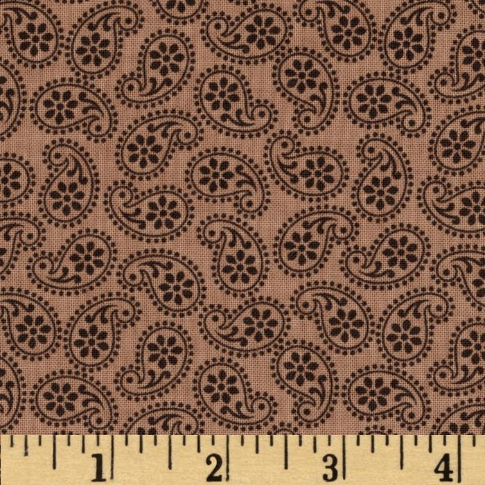 Road Well Traveled Tossed Paisley Tan