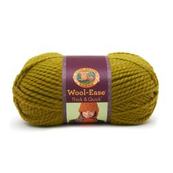 Lion Brand Wool-Ease Thick & Quick Yarn (132) Lemongrass