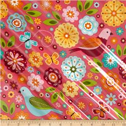 Riley Blake Summer Song 2 Laminate Main Pink