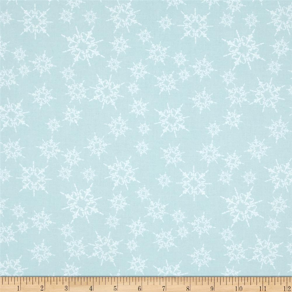 Home For The Holidays Snowflake Light Blue