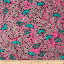 The Garden of Earthly Delights Palms Teal