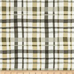Shadows Paintbox Plaid Taupe