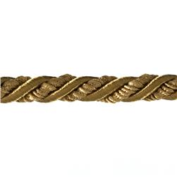 "Shanae 3/8"" Twisted Cord Trim Gold"