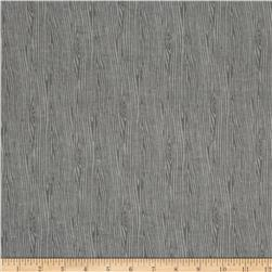 Fall Town Flannel Wood Grain Gray