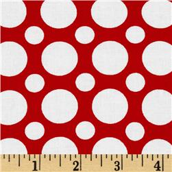 Spot On Large Dot Red