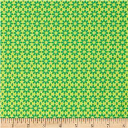 Uppercase Ice Floral Lime