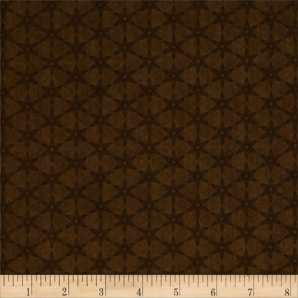 Just A Pinch Tonal Geometric Brown