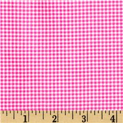 Michael Miller Tiny Gingham Raspberry