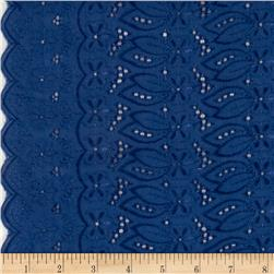 Fancy Eyelet Navy