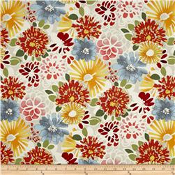 Vera Cruz Floral Yellow/Red/Blue