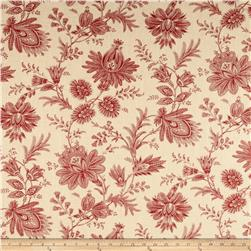 Swavelle/Mill Creek Sakari Blend Claret Red Fabric