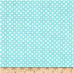 Spot On II Mini Dots Aqua/White