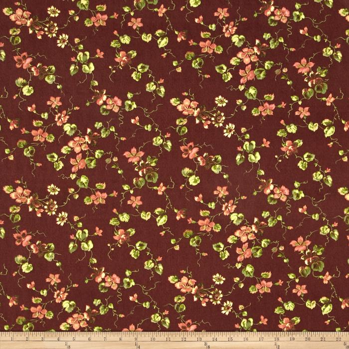 Penny Rose Isabella Floral Brown