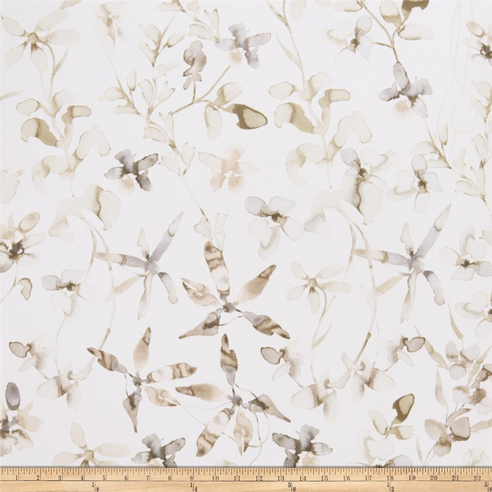 Fabricut 50109w Viola Wallpaper Umber 01 (Double Roll)