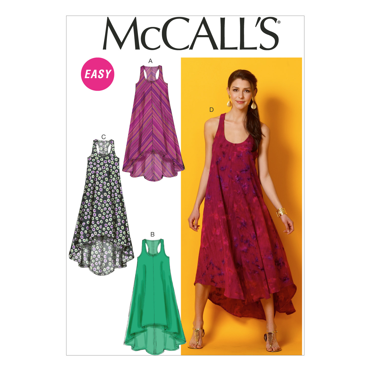 Image of McCall's Misses' Dresses Pattern M6954 Size 0Y0