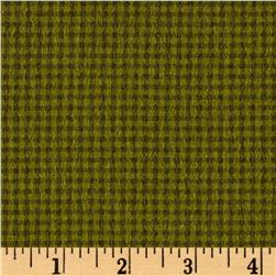 Kim Diehl Winter Cheer Flannel Small Check Green