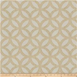 Fabricut Wow Lattice Jacquard Cream