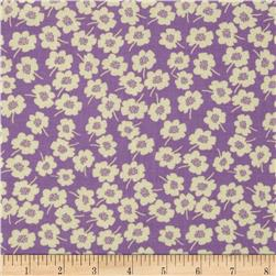 Secret Garden Daisy Dot Pebble Lilac