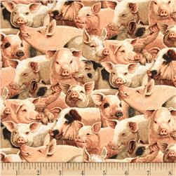On the Farm Niche Cotton Packed Pigs