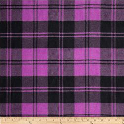 Winterfleece Double Take Plaid Orchid/Black Fabric