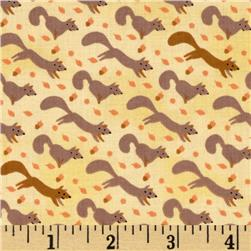 Critter Patch Organic Baby Foxes Yellow