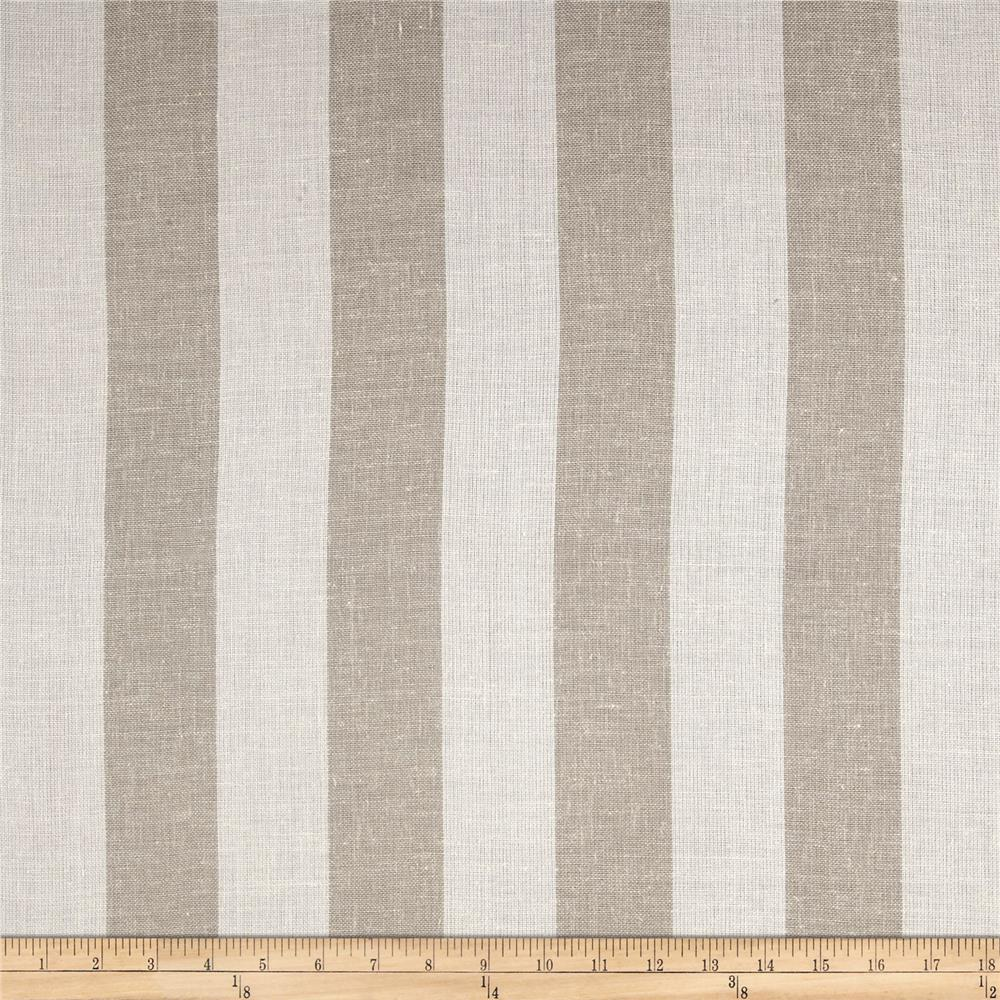 Fabric stripe linen for Apparel fabric