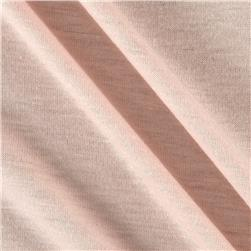 Polyester Jersey Knit Solid Off Pink