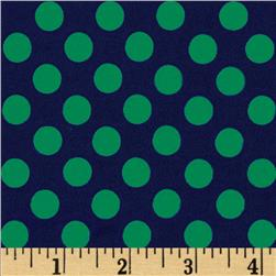Michael Miller Ta Dot Midnight Fabric