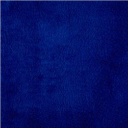 Shannon Minky Solid Cuddle 3 Royal Blue