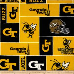 Collegiate Fleece Georgia Institute of Technology Black/Yellow