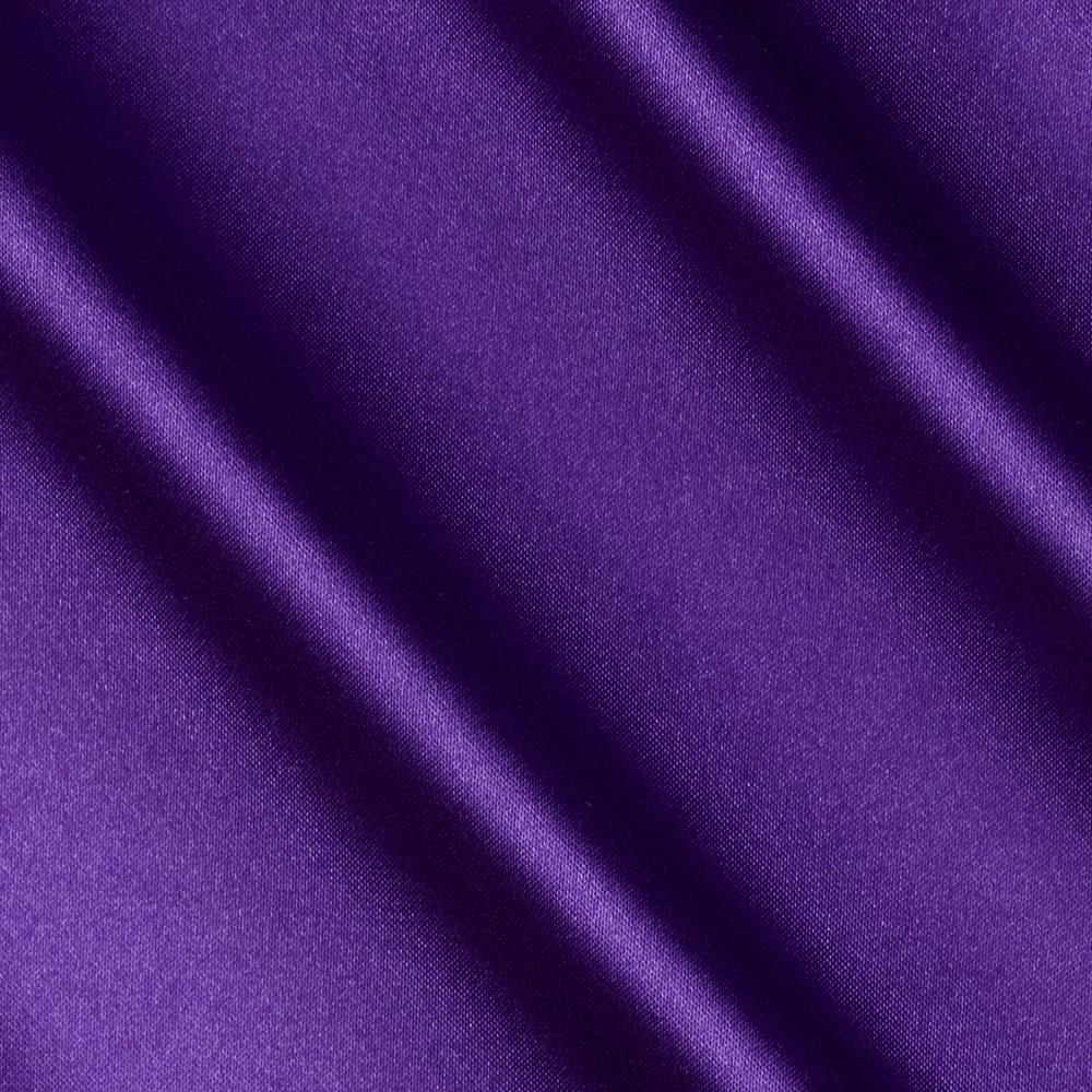 Barcelona Spandex Stretch Satin Purple