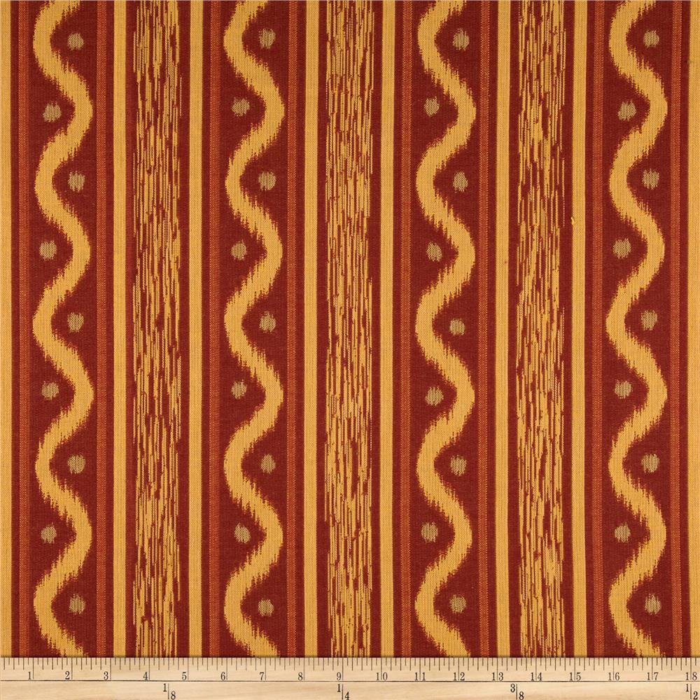 Robert Allen Promo Cottage Lane Jacquard Nutmeg