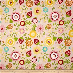 Riley Blake Simply Sweet Large Floral Pink
