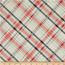 Riley Blake Vintage Verona Plaid Coral