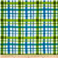 Paintbox Shadows Plaid Green