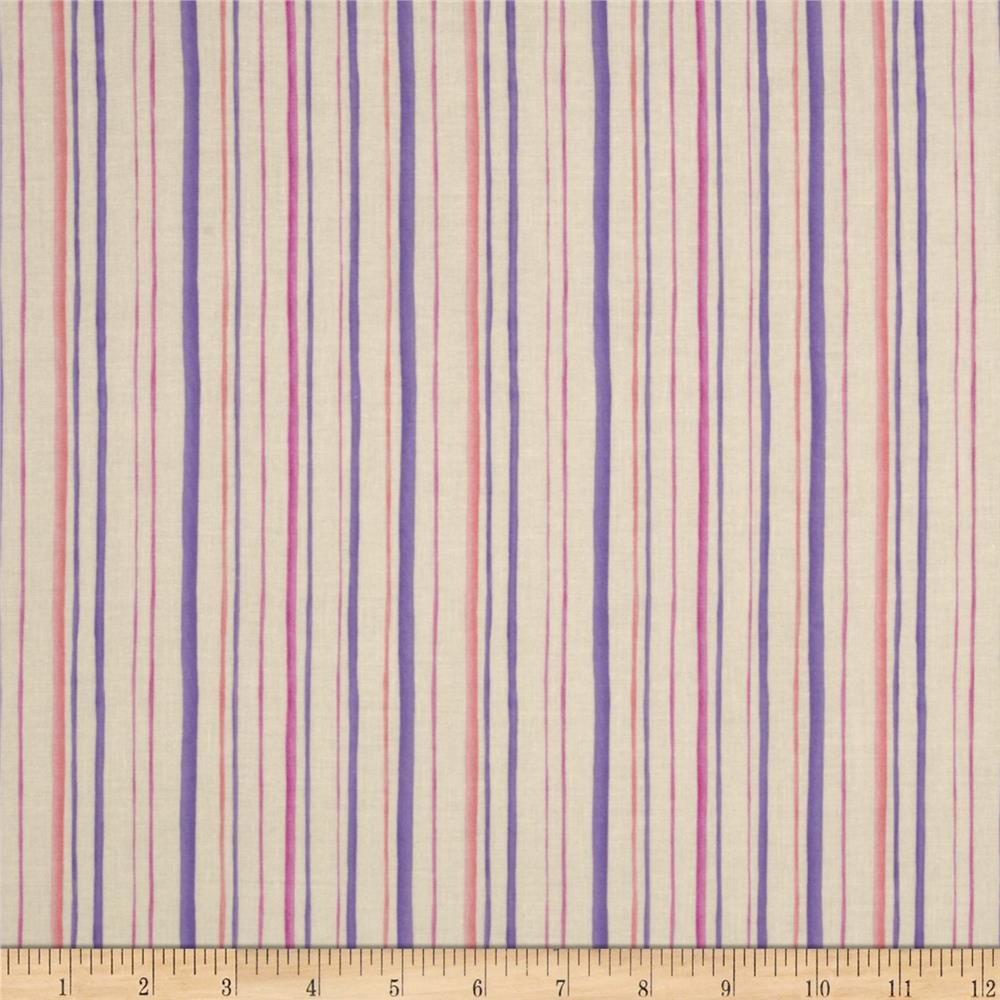 Fairies Of The Earth Stripes Plum