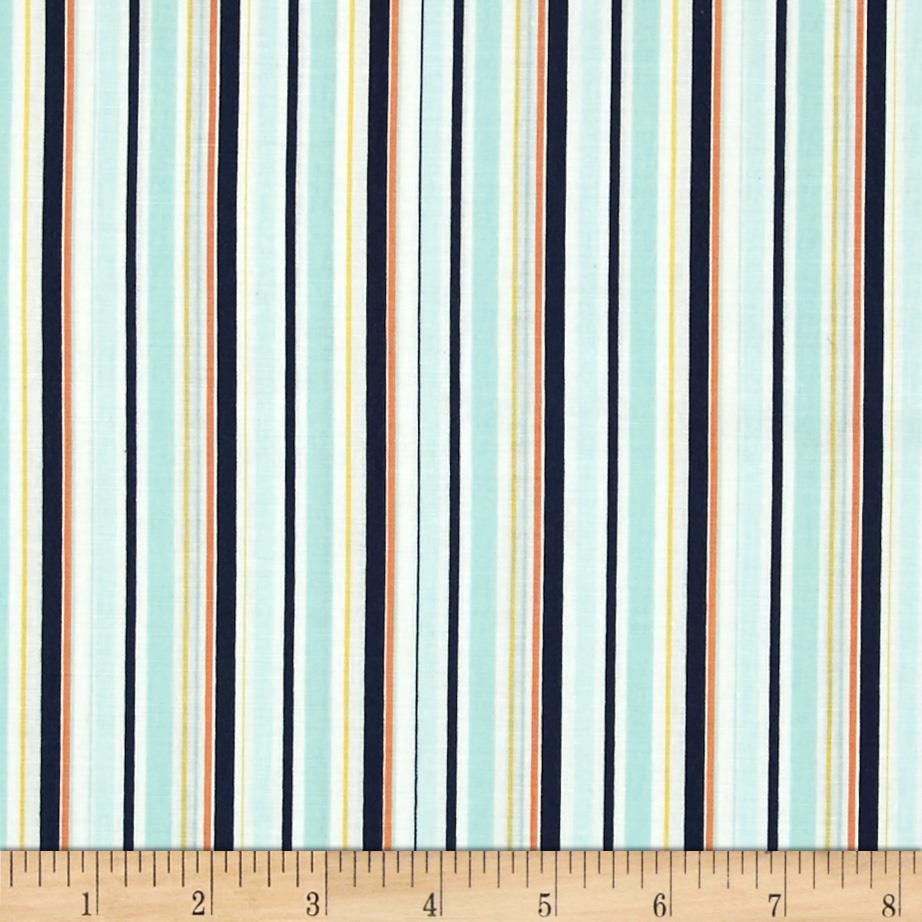 Riley Blake Pieces of Hope 2 Stripes Blue