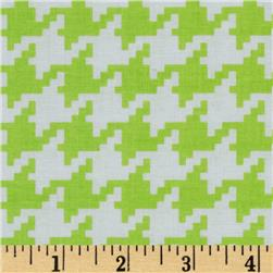 Michael Miller Everyday Houndstooth Garden Fabric